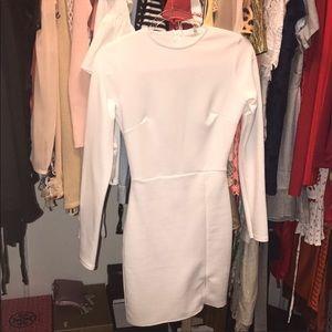 NWOT white mini dress